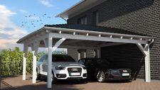 NEU Premium Carport 5.20 x 6.00 mit 33% Onlinerabatt Carports ab Werk