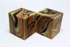 Lorina's soap cut bars via Weiwei's DIY :: 痞客邦 PIXNET ::