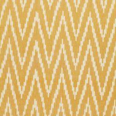 Kasari Ikat | 3470006 in Pineapple | Schumacher Fabrics