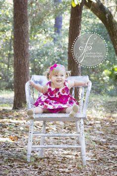 #child #photography #girl #flowers #pink #chair #nature #woods Chair Photography, Children Photography, Toddler Photos, Antique Chairs, Photo Shoot, Woods, Antiques, Flowers, Nature