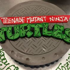 Ninja turtles cake | Yelp