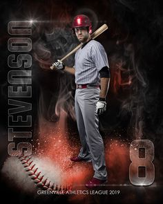 Series of 10 different templates for baseball photography including memory mates, posters and banners Baseball Senior Pictures, Baseball Photos, Sports Pictures, Senior Pics, Baseball Banner, Sports Baseball, Baseball Players, Baseball Movies, Baseball Photography