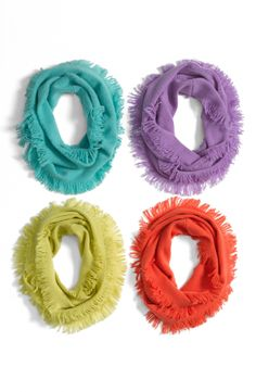 Colorful scarves to brighten up winter! #RackUpTheJoy @Nordstrom Rack