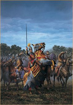 Charlemange's : also known as Charles the Great (Latin: Carolus or Karolus Magnus) or Charles I, was King of the Franks who united most of Western Europe during the early Middle Ages and laid the foundations for modern France and Germany.