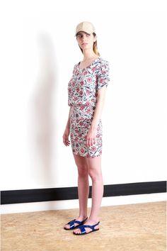 Casteou La Ciotat Short Sleeve Dresses, Dresses With Sleeves, Spring Summer 2015, Summer Dresses, Formal Dresses, Vintage, Collections, Style, Fashion