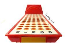 Vintage Bingo Bankers Table Retro Bingo Game by JoyousVintage, $9.00