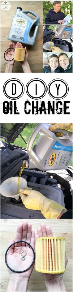 This DIY Oil Change makes changing your oil easier than you think! Save money and be resourceful by changing your own oil! We demonstrate how to change your car's oil by using Pennzoil motor oil purchased at Walmart; see our step-by-step tutorial. #ad #DotComDIY #CollectiveBias