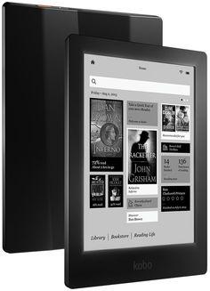 The high resolution Kobo Aura HD eReader could be a Kindle-killer.