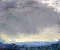 Melita Denaro - Atlantic Storm Coming in Over Pollan Paintings I Love, Oil Paintings, John Evans, White Lilies, California Beach, The Dunes, Cemetery, Oil On Canvas, Modern Art