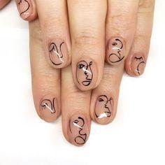 Natural Acrylic Nails - Gel Nails And Acrylic Nail Designs - halloween nails Simple Wedding Nails, Wedding Nails Design, Simple Nails, Minimalist Nails, Halloween Nail Designs, Halloween Nails, Classy Nails, Trendy Nails, Simple Nail Designs