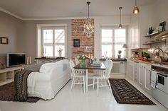 2 Apartamento pequeno no blog Detalhes Magicos
