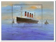 World Stamp Show-NY 2016 Sept. 12, 1907: RMS Lusitania arrived in New York City after a record-breaking 5 day crossing of the Atlantic.