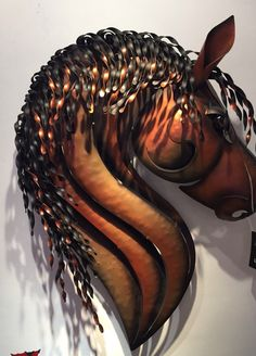 Amazing metal wall art