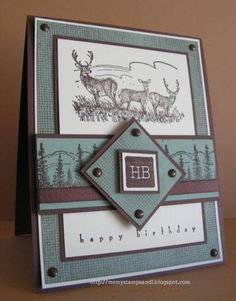 SC178,CC168 DH's Birthday by nitestamper - Cards and Paper Crafts at Splitcoaststampers