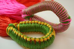 these are an example of the rings of the hammocks.    http://www.facebook.com/DesignYourHammock