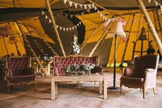 Releaxed seating area - Sami Tipi Wedding by london-weddingphotographer