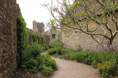 Farleigh Hungerford Castle, Somerset.