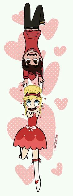 Hold Onto Me by Leneeh<<I love Starco! I ship Starco harder than I ship Chairiplier! Disney Xd, Disney And Dreamworks, Evil Disney, Disney Ships, Star E Marco, Princess Star, Animation, Star Butterfly, Cartoon Shows