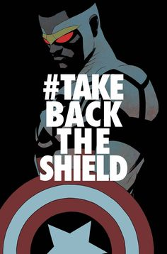"""""""TAKE BACK THE SHIELD"""" STARTS NOW! The world has received an ULTIMATUM: Peace in our time...or face the fury of The Flag-Smasher! Amid cries of """"#TakeBacktheShield"""", Sam Wilson stands against a rising"""