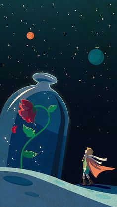 The little Prince - Trend Disney Stuff 2019 Red Wallpaper, Tumblr Wallpaper, Galaxy Wallpaper, Disney Wallpaper, Wallpaper Backgrounds, Iphone Wallpaper, Wallpaper Quotes, Computer Wallpaper, Little Prince Quotes