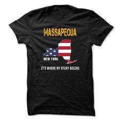 (Tshirt nice Discount) MASSAPEQUA Its where my story begins (Tshirt Legen) Hoodies, Tee Shirts
