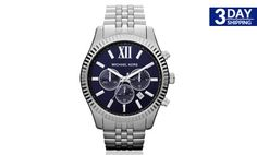 Get 47% #discount on Michael Kors 'Bradshaw' Chronograph Bracelet Watch #michaelkors