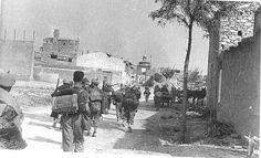 Quinto 1937 Agosto 27 Centelles Tropas Republicanas Carretera Fronton