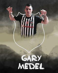 Gary Medel #beşiktaş #medel Gary Medel, Black Eagle, 7 And 7, Pitbull, Gay, Soccer, Movies, Movie Posters, Futbol