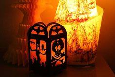 Glowing Spooky Silhouette DIY