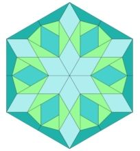 Quilt Block 10: Pattern and Template