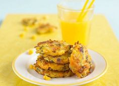 Carrot, Courgette & Sweetcorn Fritters
