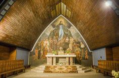 église Notre Dame des Alpes. Saint-Gervais-le-Fayet. Rhône-Alpes