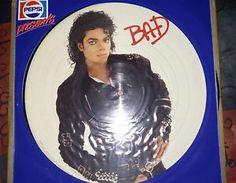 Michael Jackson Pepsi Promo Picture disc Bad
