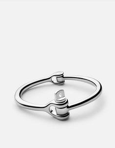 Reeve Cuff Bracelet, Sterling Silver | Men's Cuffs | Miansai