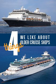 Why should you consider sailing aboard an older cruise ship? Click to hear our reasons.