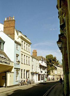 Holywell Street, Oxford, UK