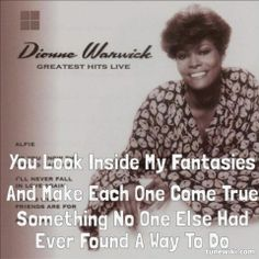 i'll never love this way again - dionne warwick