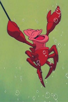 Day 11- favorite animal sidekick. Sebastian from The Little Mermaid is so cool and funny. He is one of my favorites