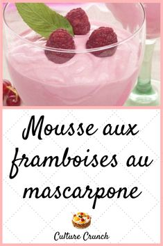 Discover recipes, home ideas, style inspiration and other ideas to try. Mousse Fruit, Mousse Dessert, Creme Dessert, French Desserts, Sweet Desserts, Compote Recipe, Desserts With Biscuits, Vegan Ice Cream, Cooking Chef