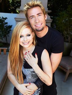 Avril Lavigne & Chad Kroeger - wedding date 07/01/2013
