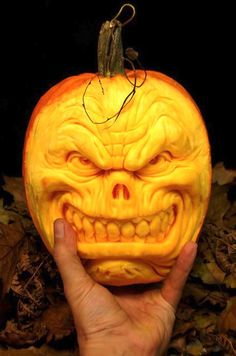 Scary Halloween Pumpkin Carvings | Scary Halloween Pumpkin Carvings