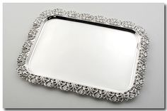 Handcrafted silver platters from a leading politician in Australia.