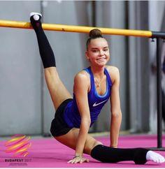 Dina AVERINA (Russia) ~ Training @ European Championship Hungary-Budapest on 19-21/05/2017 ❤️❤️         Photographer Ulrich Fassbender.