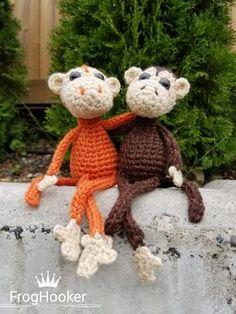 monkey amigurumi 3