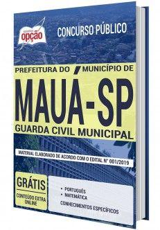 Apostila Concurso Prefeitura Municipal De Maua Sp 2020 Guarda
