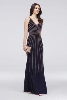 842684145b9b2 Velvet and Mikado Strapless Ball Gown   David's Bridal   - dresses ...
