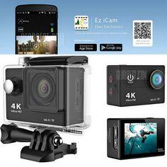 + Waterproof Video: 10 fps / fps fps Super Wide Angle Lens: 170 Waterproof: U. Diving Camera, Ultra Wide Angle Lens, Ultra Hd 4k, Geek Toys, Close Up Lens, Full Hd 1080p, Cameras For Sale, Camera Sale, Waterproof Camera
