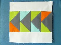 Geese on the Go Block | FaveQuilts.com