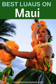 Looking for fun things to do in Maui? Why not find out about the best luaus on Maui, including Wailea luaus, Kaanapali luaus and Lahaina luaus. Best Beaches In Maui, Maui Luau, Lahaina Luau, Maui Hawaii, Trip To Maui, Family Vacation Destinations, Hawaii Vacation, Vacations