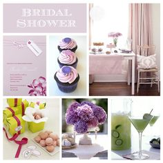 Bridal Shower Themes 10 - purple and cucumber cocktail!